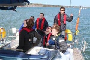 Half Term Family Sailing Experience. 1/2 day of Big Boat Sailing (am)