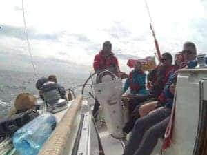 South coast Solent UK corporate and social sailing days