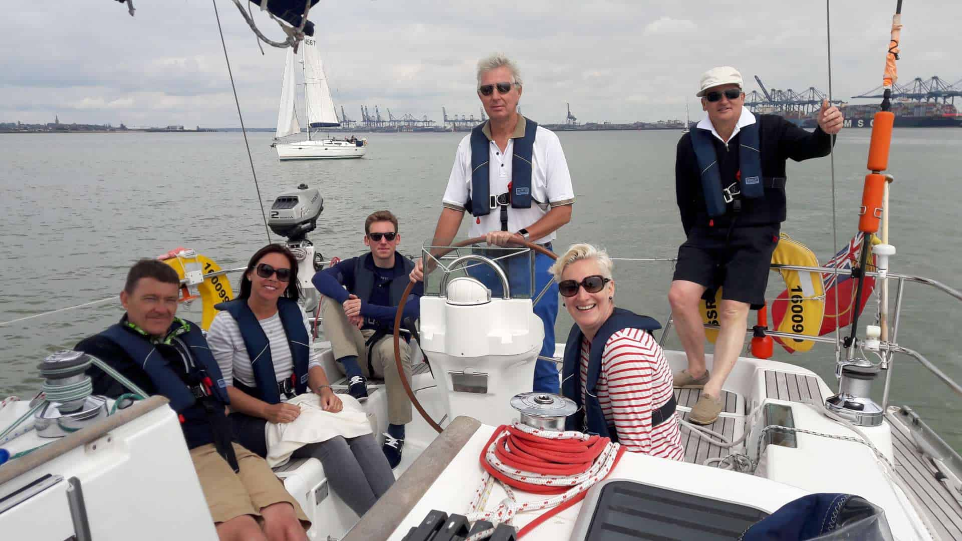 Cowes Week Spectator!! Sailing days (Tuesday)