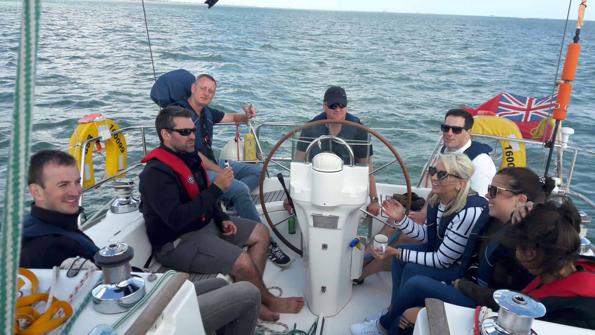Cowes Week Spectator!! Sailing days – Whole Boat (Tuesday)